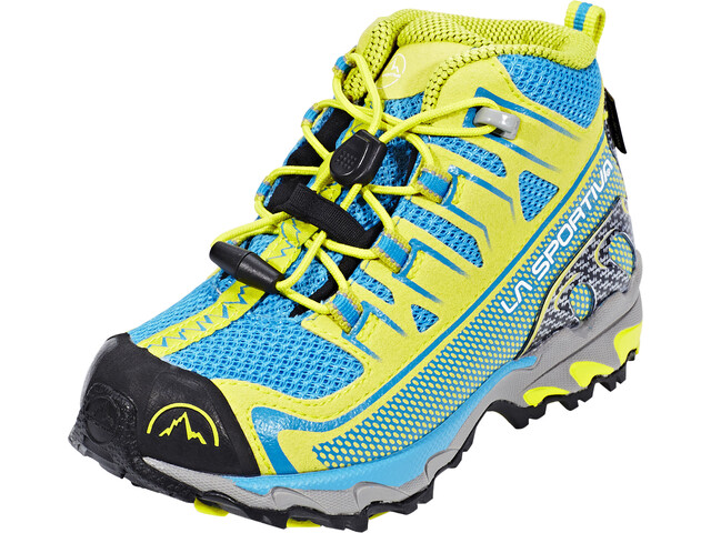 La Sportiva Falkon GTX Shoes Kinder blue/sulphur